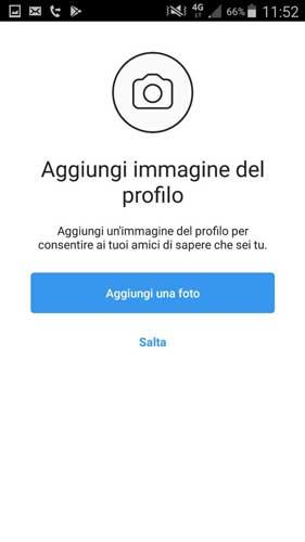 Immagine profilo di Instagram
