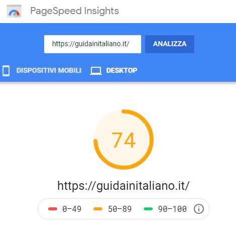 ottimizzazione-sito-test-2-pagespeed-desktop