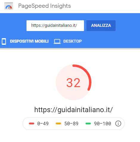 ottimizzazione-sito-test-2-pagespeed-mobile